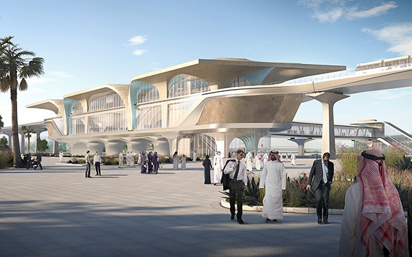 Qatar Integrated Railway Project by UNStudio