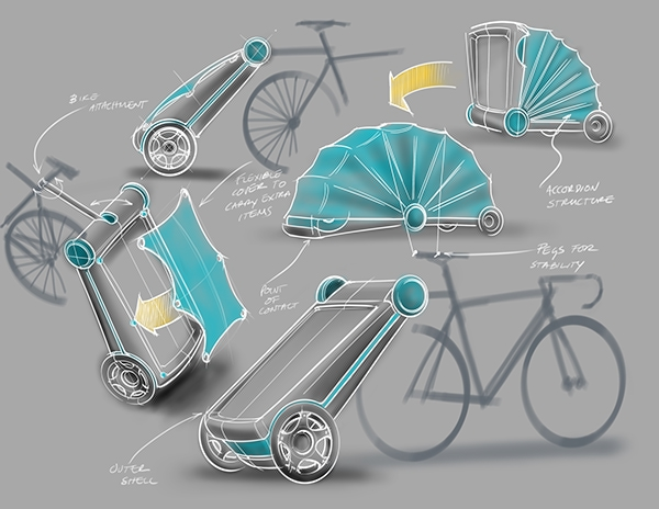 Cycle Carry Camp Combo Yanko Design