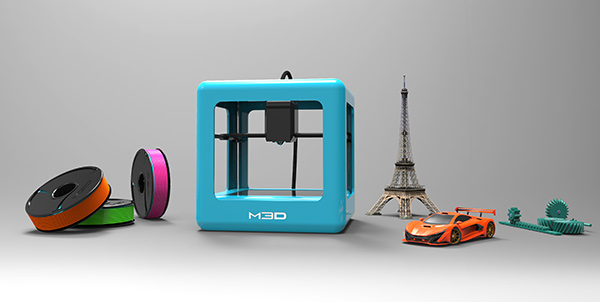 The Micro 3D Printer by Team M3D