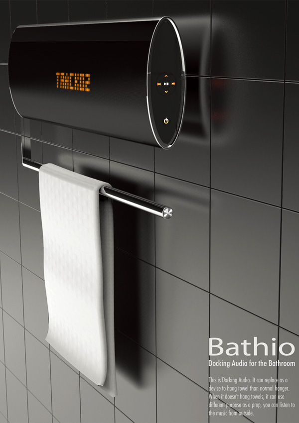Bathio Docking Station for Bathrooms by Lee Ji-Hoon