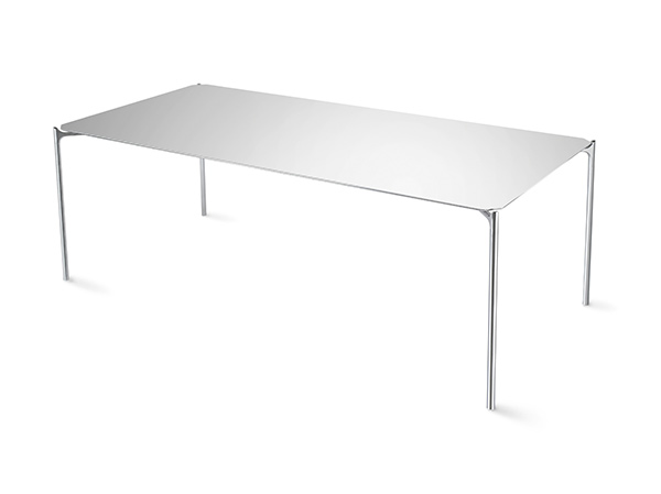Blade - 11mm Thick Aluminum Honeycomb Table by Alexander Purcell Rodrigues