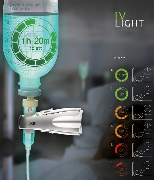 IV Light – Indication for the IV Line by Shin-min Kim, Min-Ki & Hwang Kyu