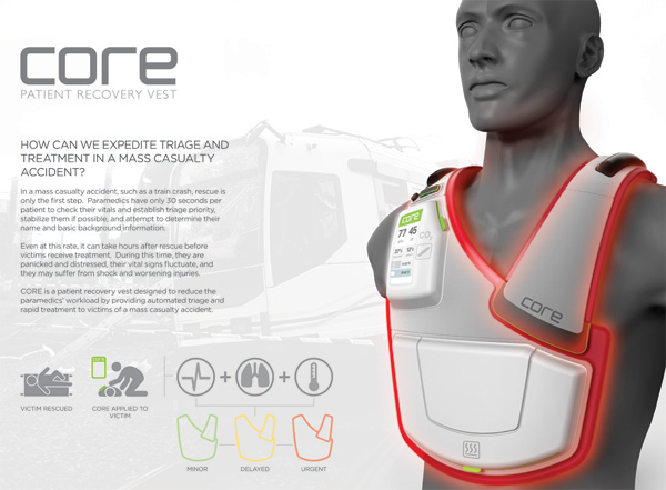 The CORE Patient Recovery Vest by Christopher Wright
