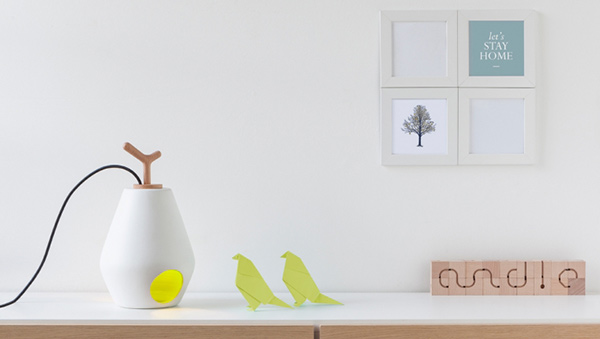Andle Lamp by Alessandro Squatrito