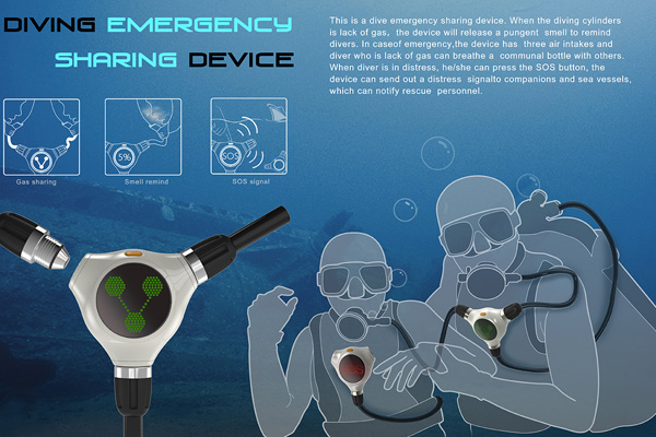 Diving Emergency Sharing Device by Tuo Zhu, Wei-Dong Ou, Ya-Zhou Lin, Li-Hua Tan, Jun-Jie Shao, Tao Zhong & Li Zhang