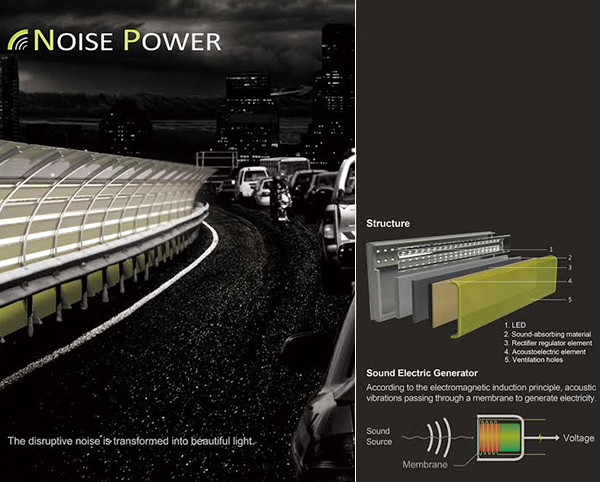 Noise Power - Roadway Lighting by Yu-Sheng Chen