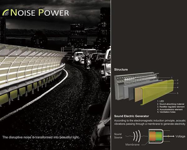 Noise Power - Roadway Lighting by Yu-Sheng Chen