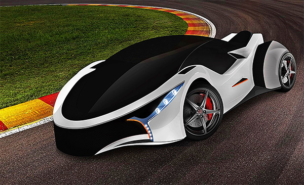 Bimodal - Concept Car by J. Sardo - F. Bruni