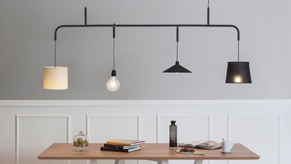 Vialattea - Pendant Lamp by Paolo Manganaro for Formabilio
