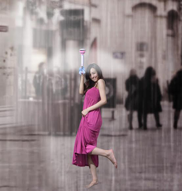 Air Umbrella - Air Flow Rain Protection