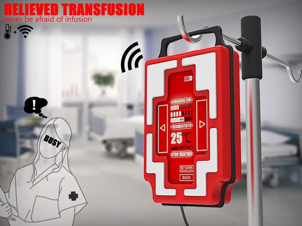 Relieved Transfusion - Transfusion Kit Design by Zhao-Feng Wang, Jia-Hua Lv, Xiao-Rong Wu & Jian-Sen Su