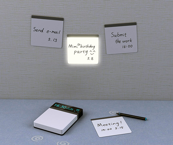 Reminder - Reusable Sticky Note by Sun Jin