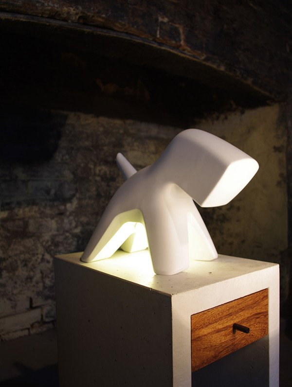 Richard - Dog Lamp by Formzoo Design