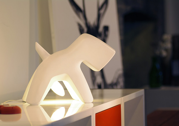 Well-Endowed Doggy Lighting - image richard_03 on http://bestdesignews.com