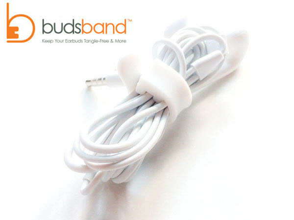 Budsband – Earbuds Band Organizer by Good Widget Company