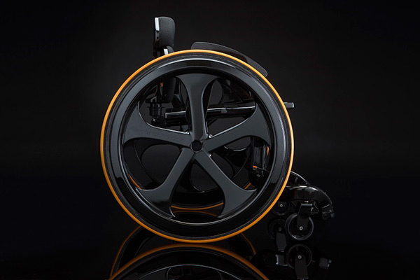 The World's First COOL Wheelchair