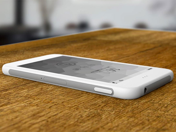 eInk Cell Phone by Fabrice Dubuy