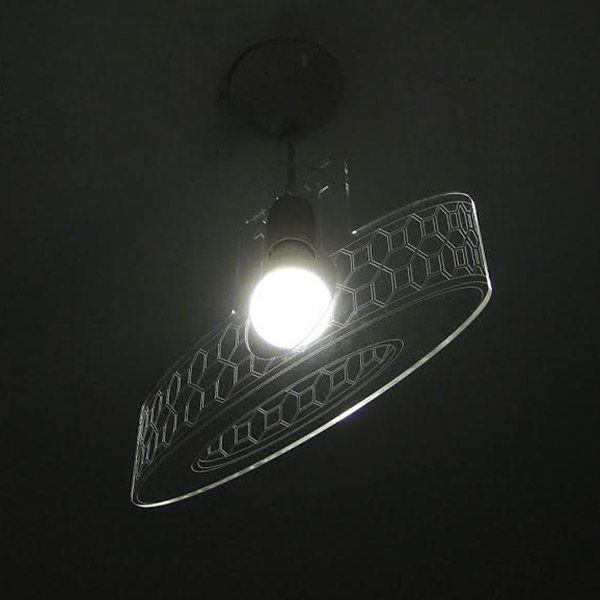Flat Chandelier by Jacob Mazor