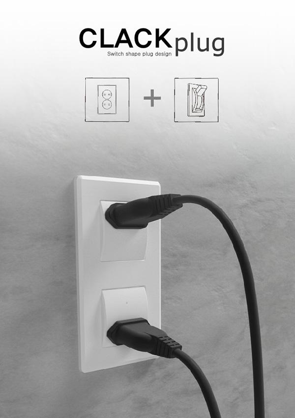 Clack Plug – Plug Redesign by Goeun Choi, Jeongsoo Heo & Younghun Lim