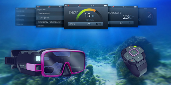 Scubus S - Augmented Reality Scuba Diving Gear by Noah Smith