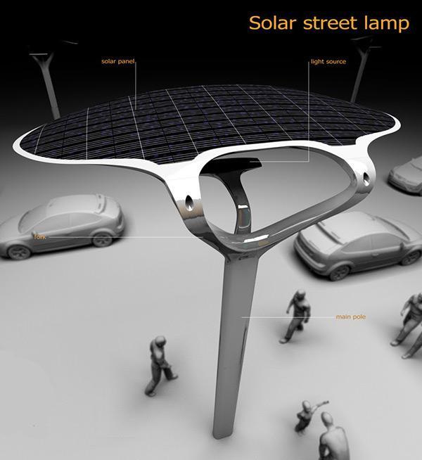 Super-linked Solar Street Concept