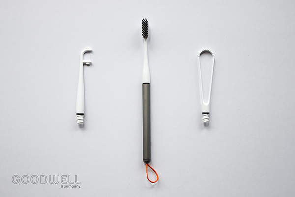 Open Source Modern Toothbrush by The Goodwell Co.