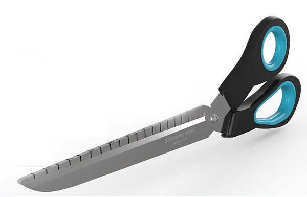 Prescissors - Precision Scissors with Ruler by RAEES PK