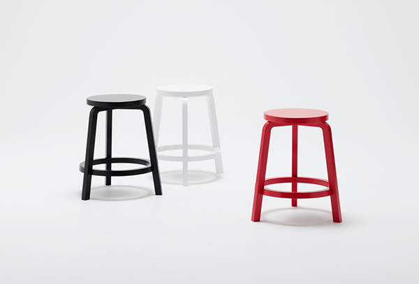Halo - Stool by Bradley Fraser