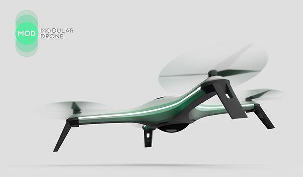 MOD - Modular Drone by Manuel Alberto Duarte Soares