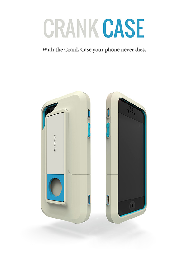Crank Case - Smartphone iPhone Case by Lucid Design