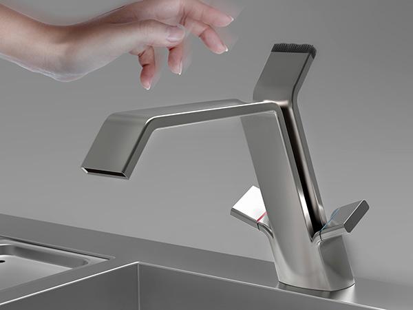 Duet Faucet by Bogdan Ionita