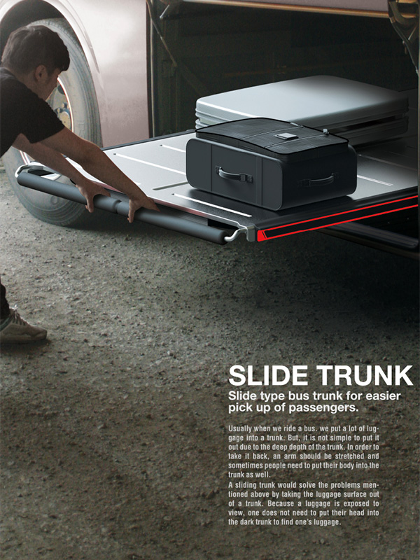Slide Trunk – Luggage Slide Tray for Buses by Choi Seungho, Han Jiyu, Jeon Minchang, Lim Hyunmook and Yoo Sungmin