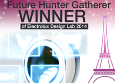 Winner Crowned for Electrolux Design Lab 2014!