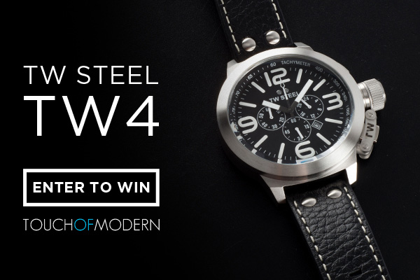 Giveaway: Five Days, Five Watches with Touch Of Modern - Today is The TW Steel TW 4 Watch