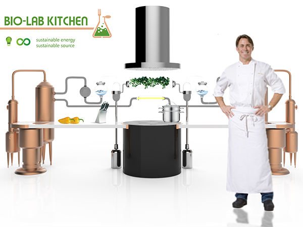 BIO-LAB Kitchen Design by Selin Koşağan