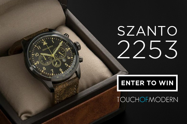 Giveaway: Five Days, Five Watches with Touch Of Modern - Today is The Szanto 2253 Watch