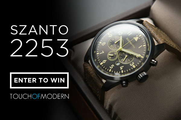 Giveaway: Five Days, Five Watches with Touch Of Modern – Today is The Szanto 2253 Watch