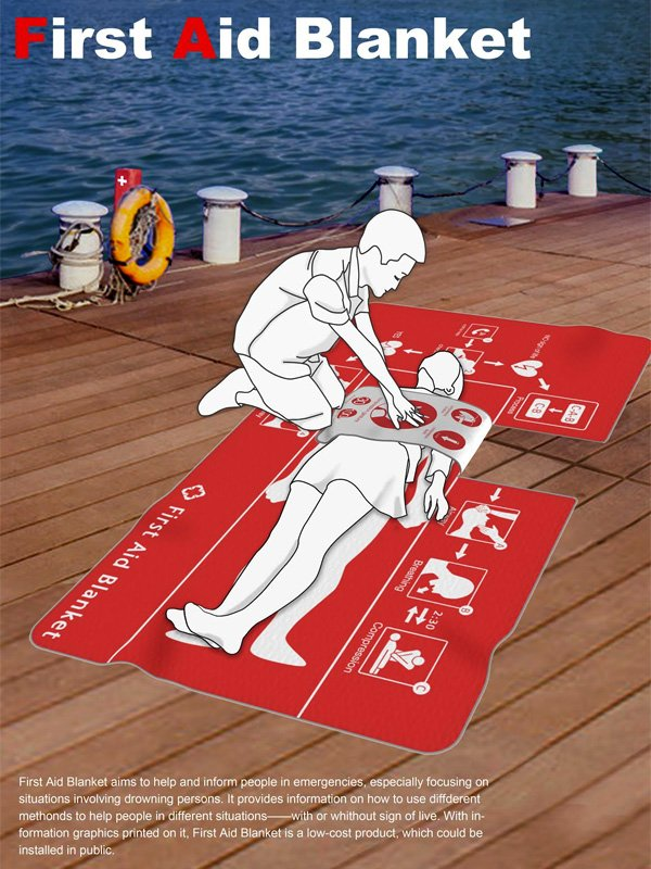 Meet The First Aid Blanket