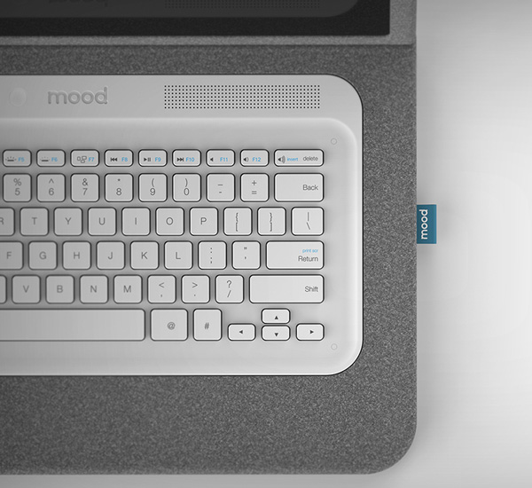 Mood Laptop Concept by Antoine Beynel