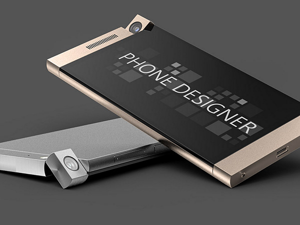 how to put design on phone