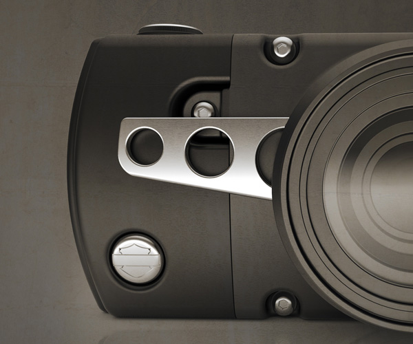 Harley Davidson Camera Concept by David Bull