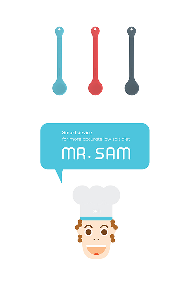 Mr. Sam - Low Salt Diet Smart Accessory by Joongu Kim