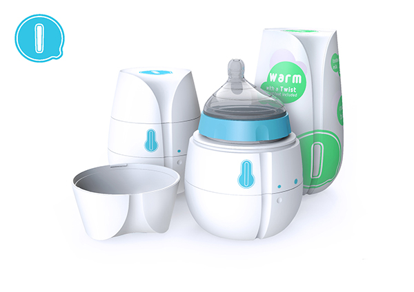 Qi - Self-Heating Disposable Baby Bottle by HJC