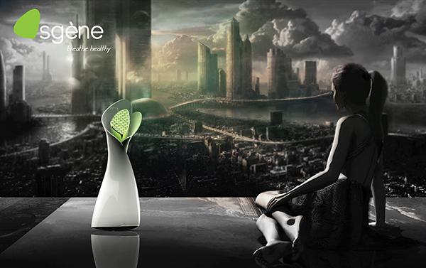 Osgène - Oxygen Appliance by Mridula Dasari