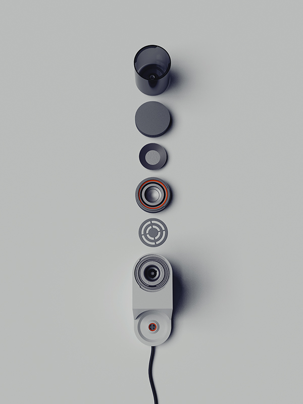 CUP - Nespresso Machine by Gerhardt Kellermann