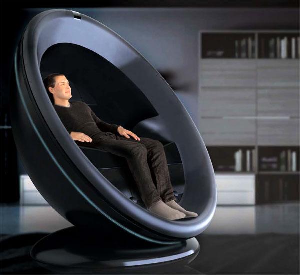 4D Chair – Multimedia Chair by Ji Hoon Kwak