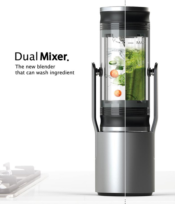 Dual Mixer Blender by Kyumin Ha and Minkyo Im