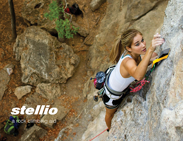 Stellio - Rock Climbing Aid by Anupreeta Agate
