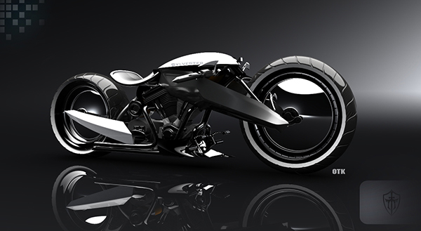 Sylvester - Chopper Motorcycle Concept by Olcay Tuncay Karabulut