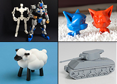 20 3D Printed Toys for Next Year!